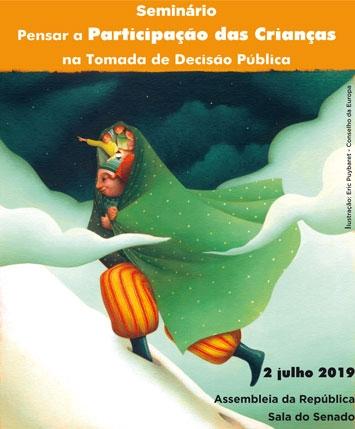 """Seminário """"Pensar a Participação das Crianças na Tomada de Decisão Pública"""""""